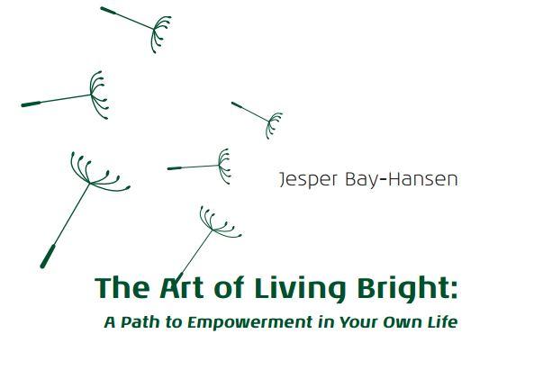 Forside til The Art of Living Bright
